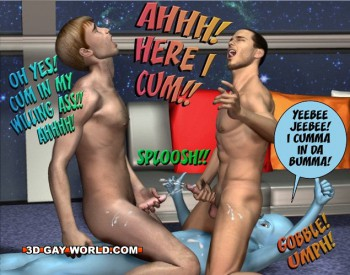 3d gay toon sex with an alien