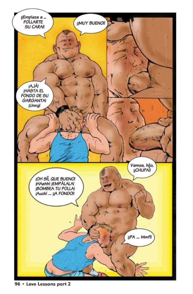 gay cartoon comic porn