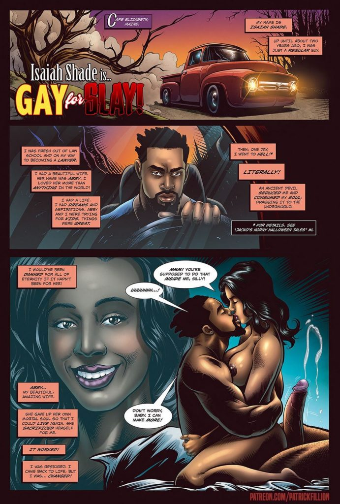 gay cartoon porn comics